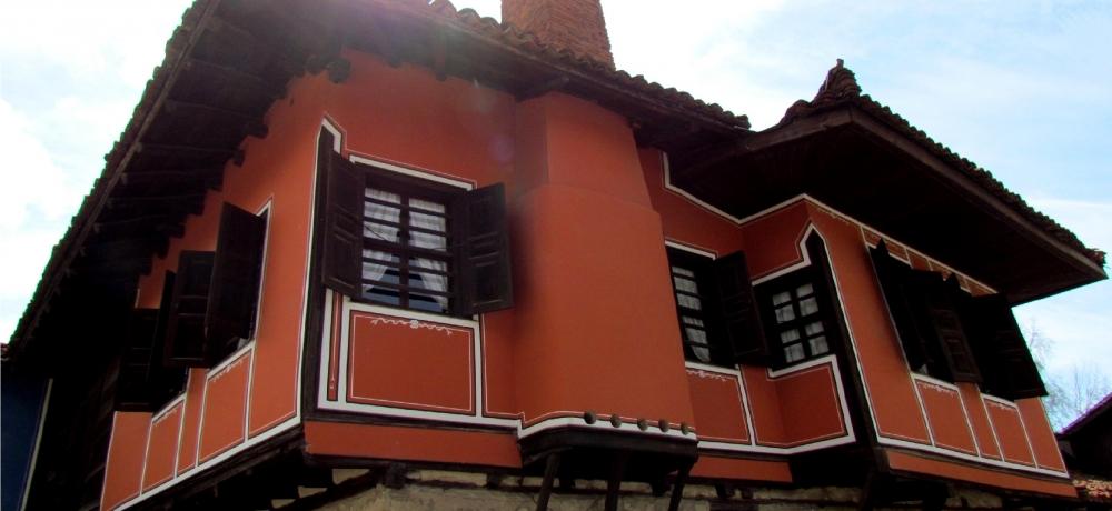 Резултат с изображение за къщата на любен каравелов в копривщица